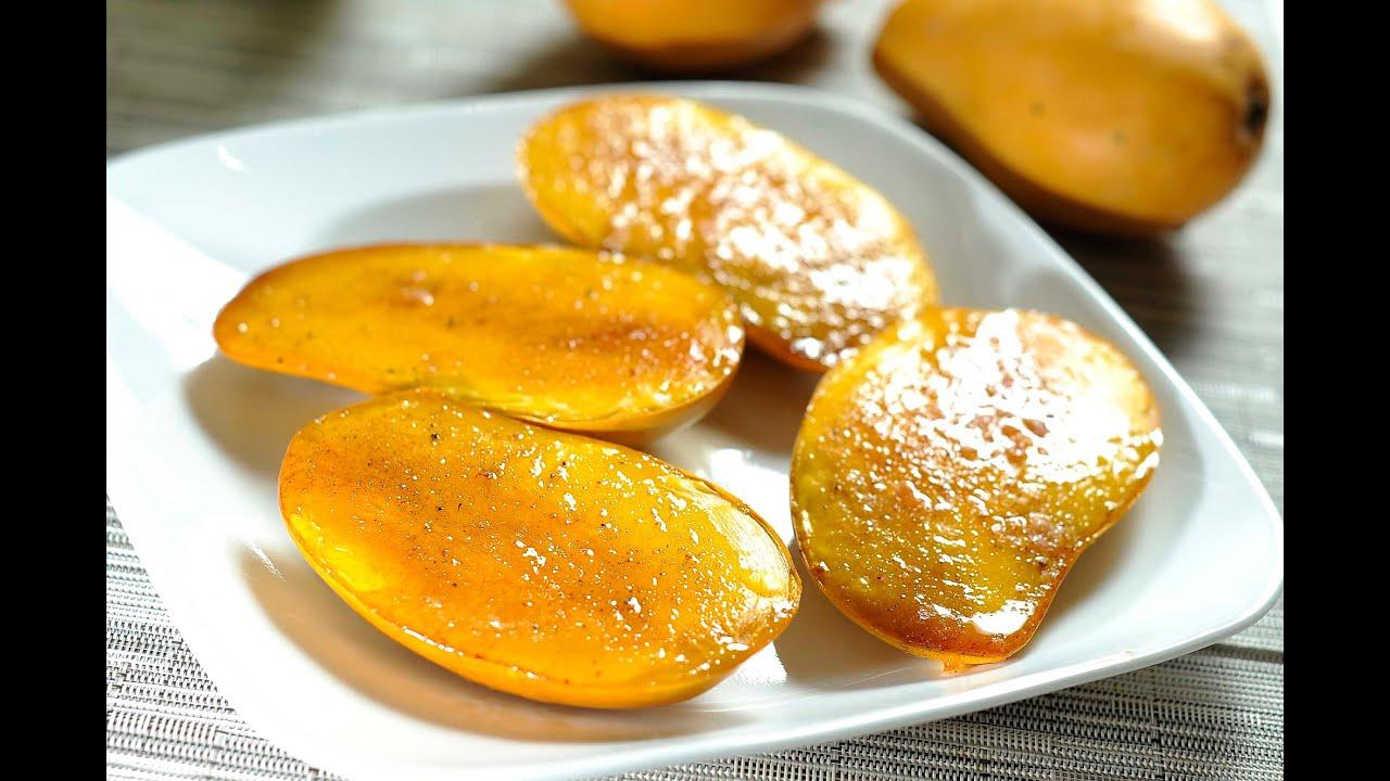 Mango brulee receta de postres f ciles youtube for Postres faciles
