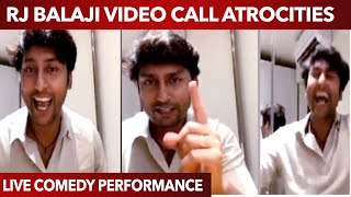 RJ Balaji Ultimate Comedy Playing Funny Games in Video Call | Vera level Fun | Try not to Laugh