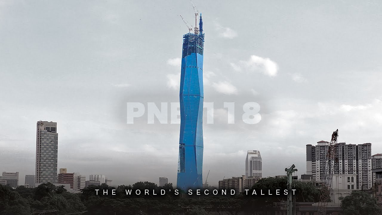 World's SECOND TALLEST in Malaysia - The PNB 118 / Merdeka 118