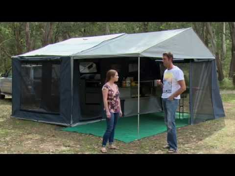 2014 Mountain Trail Escalade Soft Floor C&er - C&er Trailer Australia Magazine Review - YouTube & 2014 Mountain Trail Escalade Soft Floor Camper - Camper Trailer ...