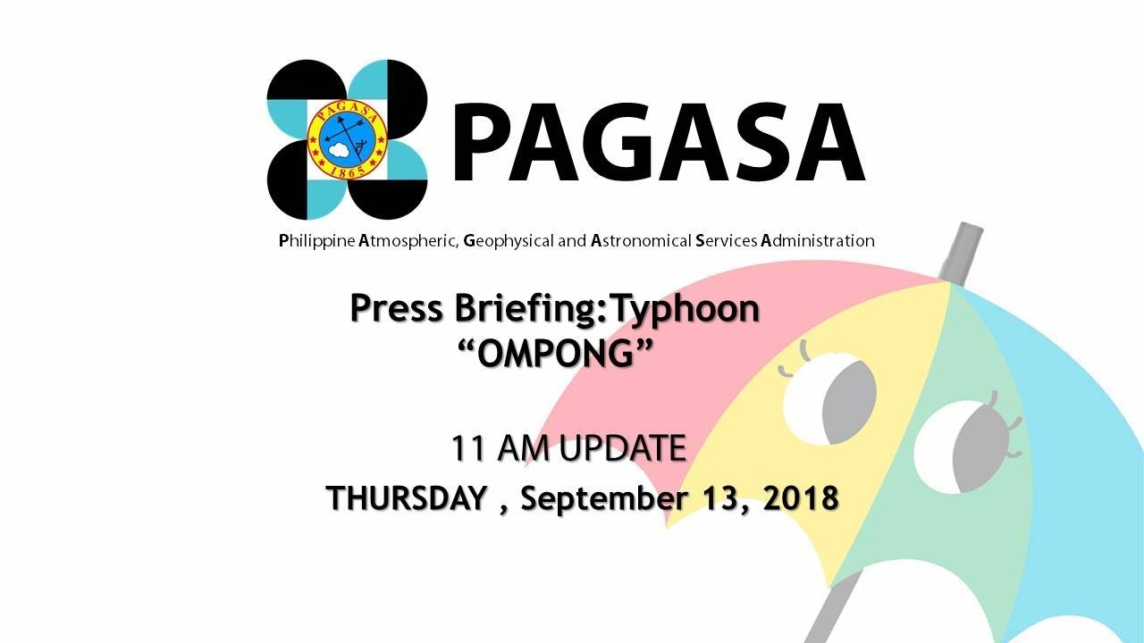 Super Typhoon Mangkhut aka Typhoon Ompong heads to the