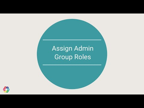 Admin : How to create Admin Group role and new admin user with limited access