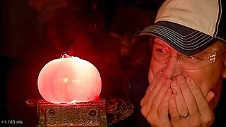 How to record Slow Motion Sounds (Exploding Tomato at 60,000fps) - Smarter Every Day 184