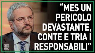 """""""MES: Lega e 5 Stelle erano contrari. Fu Conte a decidere diversamente"""" ► Borghi (Lega)"""