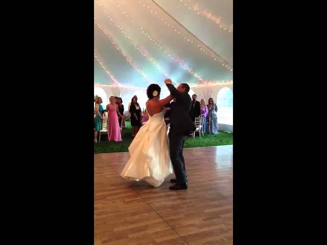 First Dance taught by Lara from Deni Danzco Studio