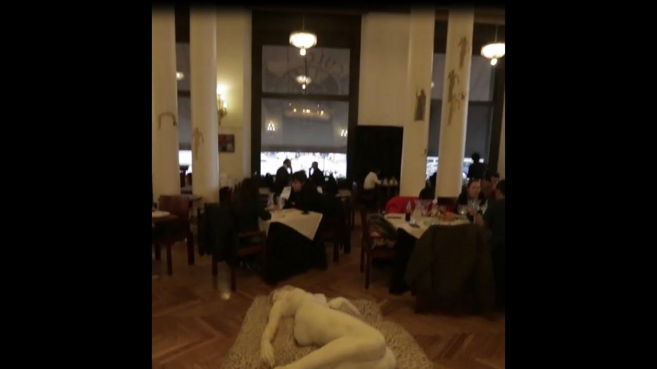 La Pecera Cafetería Del Círculo De Bellas Artes Una Maravilla De Madrid