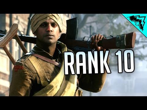 HITTING LVL 10 - Battlefield 1 Multiplayer Gameplay (LIVE)