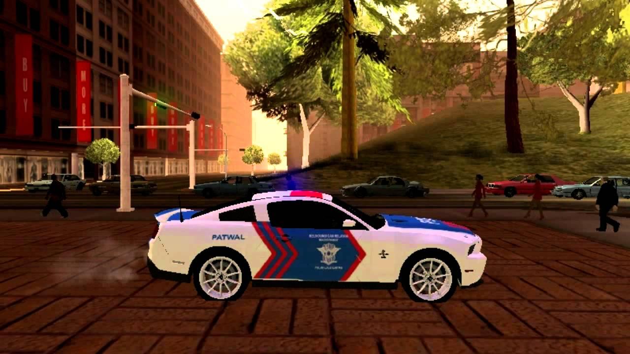 Gambar Mobil Polisi Gta Modifikasi Mobil