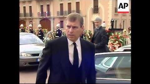 The funeral of Prince Rainier III