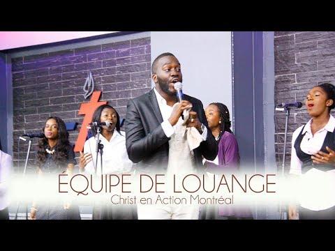 Je ne peux vivre sans toi/Tu es ma passion, par l'équipe de Louange CAE Montréal