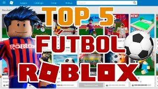 THE BEST FOOTBALL GAMES in ROBLOX TOP 5