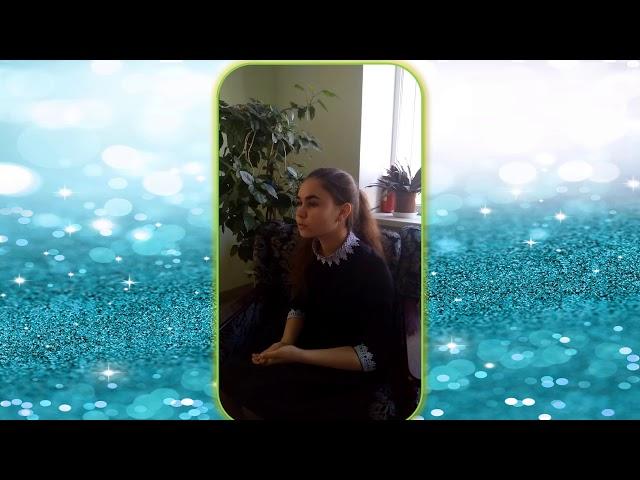Изображение предпросмотра прочтения – ВиолеттаАмельченко читает произведение «Она сидела наполу…» Ф.И.Тютчева