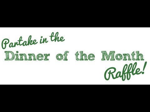 Mountain Lake PBS Dinner of the Month Raffle 2018