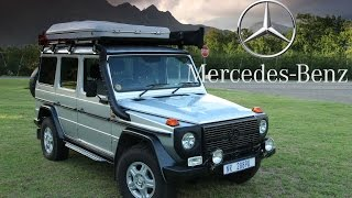 Mercedes Benz 300G PRO Review • Wonderful and absurd.
