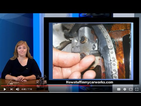 1990 to 1996 Nissan Pick up (D21 Hardbody) timing chain set replacement by  Howstuffinmycarworks