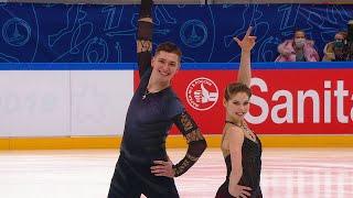 Анастасия Мишина Александр Галлямов Короткая программа Финал Кубка России 2021