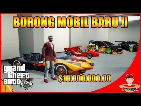 GTA V ONLINE (8) - BORONG MOBIL BARU LAGI KEREN COY BISA LONCAT !!