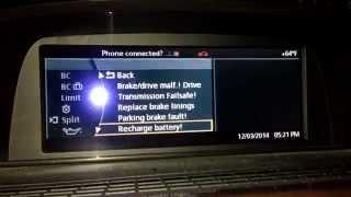 BMW E65 E66 Alternator Fault Generator Fault Problem FIX