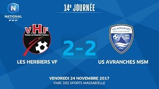 Les Herbiers vs Avranches full match