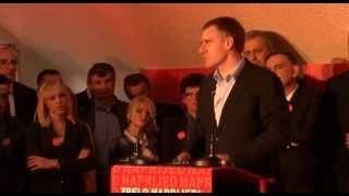 """Igor Lukšić Igor Lukšić na konvenciji Koalicije """"Za evropski Šavnik-Milo Đukanović"""" 17.maj 2014."""