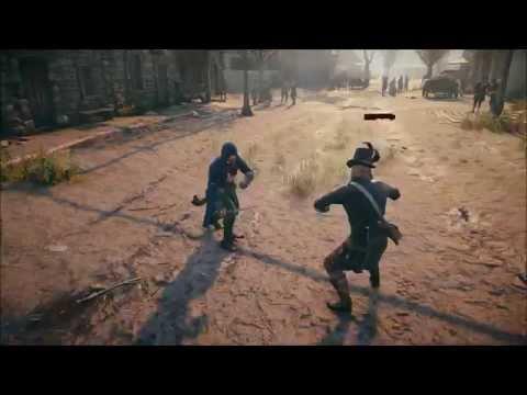 Assassin's Creed Unity Sword Fight