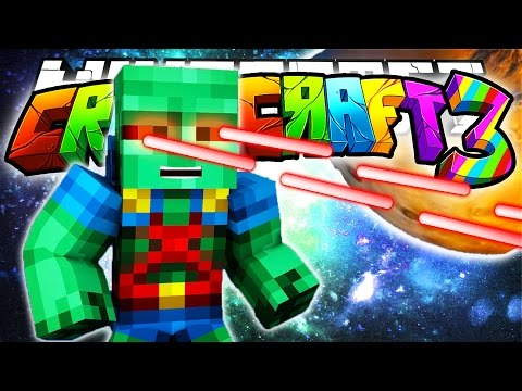 Minecraft Crazy Craft 3.0: THE MARTIAN MANHUNTER! (Superheroes Mod)! #95