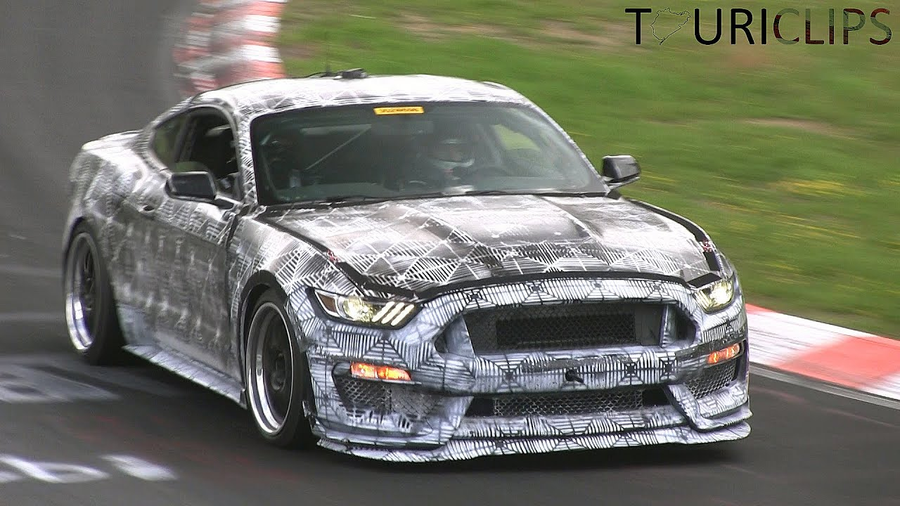 2016 Ford Mustang Svt Spied Testing On The N 252 Rburgring