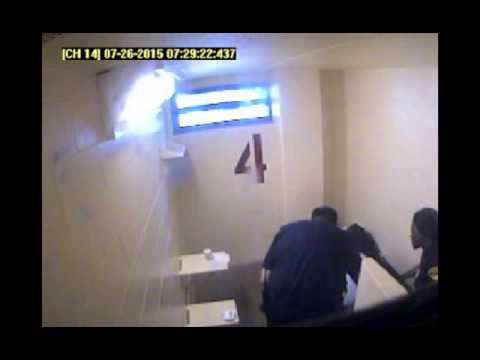 Ralkina Jones jail cell footage