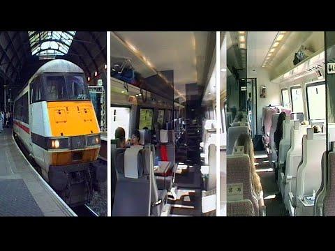 British Rail InterCity225 Trains in the 1990's