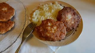 Котлеты из куриного фарша/ Cutlets from minced chicken