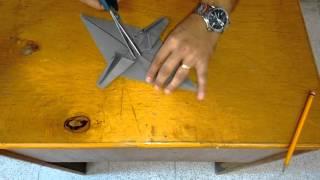 Burro en origami
