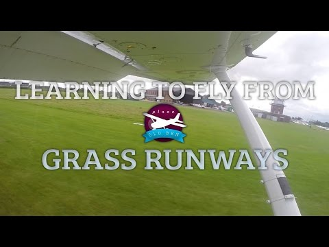 Learning To Fly From Grass Runways | ATC Audio
