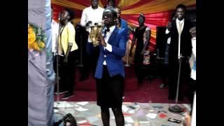 K-sax, Min Osas N Psalmist Emypraise Ministering Live@worship Encounter.