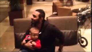 Tamer Hosny and his young fans