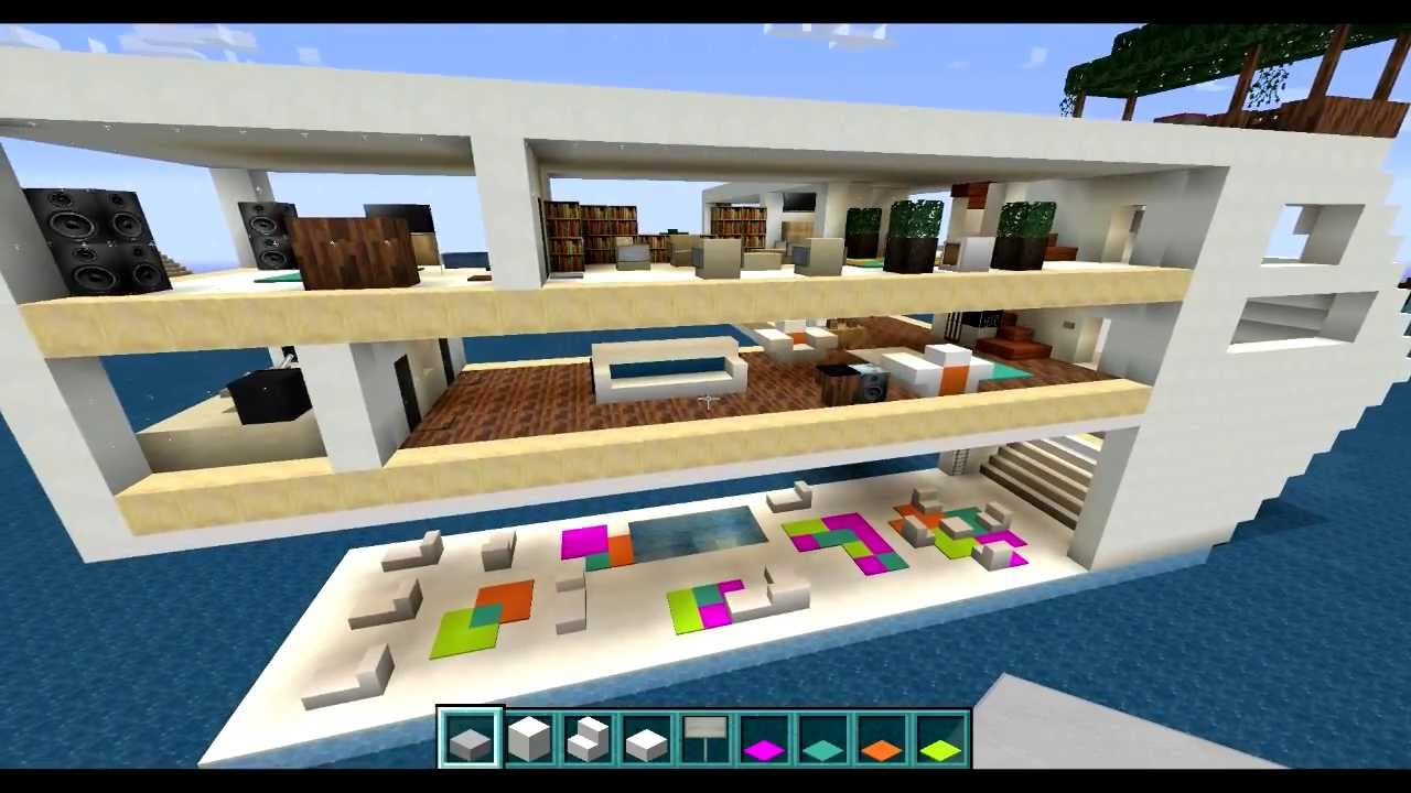Let 39 S Build Minecraft Floating House Of The Future 5 5