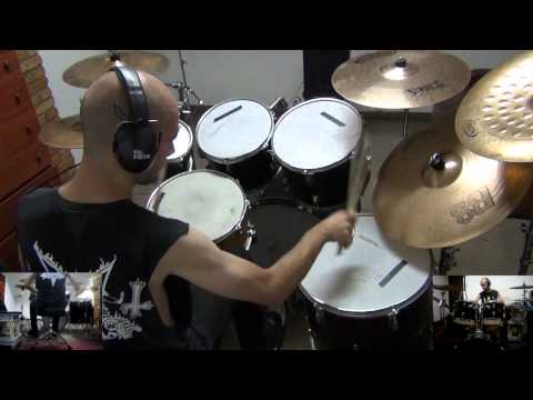Drums Cover - Dark Funeral - Bloodfrozen