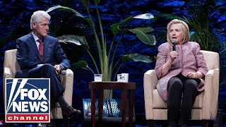 Bill and Hillary Clinton launch their paid speaking tour