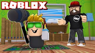 SIMAS IS AN EVIL BABY in ROBLOX! | WHERE'S THE BABY - BLOX4FUN