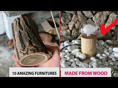 10 Amazing Furnitures Made From Wood