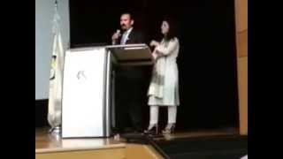 Mirza Baig and Samina Baig Inspirational Talk in Sungkyunkwan University, South Krea