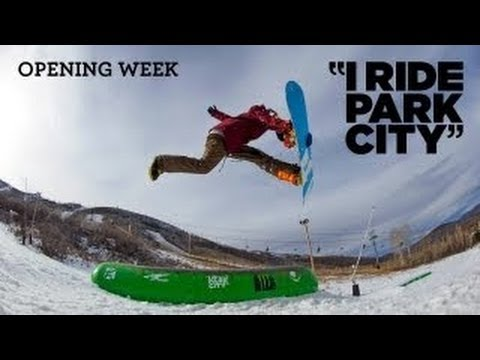 I Ride Park City 2013 Episode 1 - TransWorld SNOWboarding