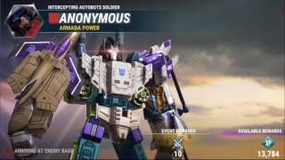 Transformers Earth Wars: Combiner Powerleveling - TON of XP fast (condensed)