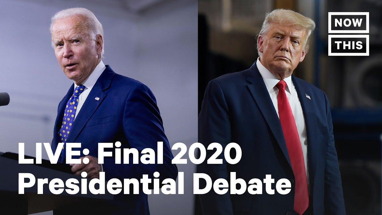 Final 2020 Biden-Trump Presidential Debate | LIVE | NowThis