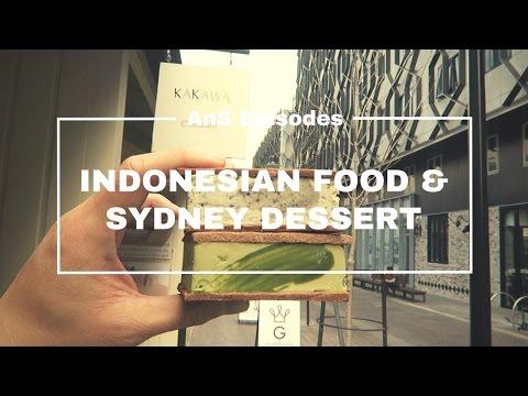 Sydney Vlog - INDONESIAN FOOD And DESSERTS (EP 26)