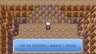 Como Atrapar A Los 3 Regis en Pokemon Rubi y Zafiro