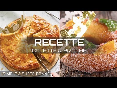 recette-epiphanie- -brioche-des-rois-(couronne)-&-galette-des-rois- -simple-&-délicieuse