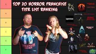 Top 20 Horror Franchise Tier List Ranking - The Horror Show