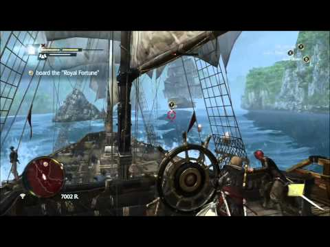 Assassin's Creed 4 Board the Royal Fortune