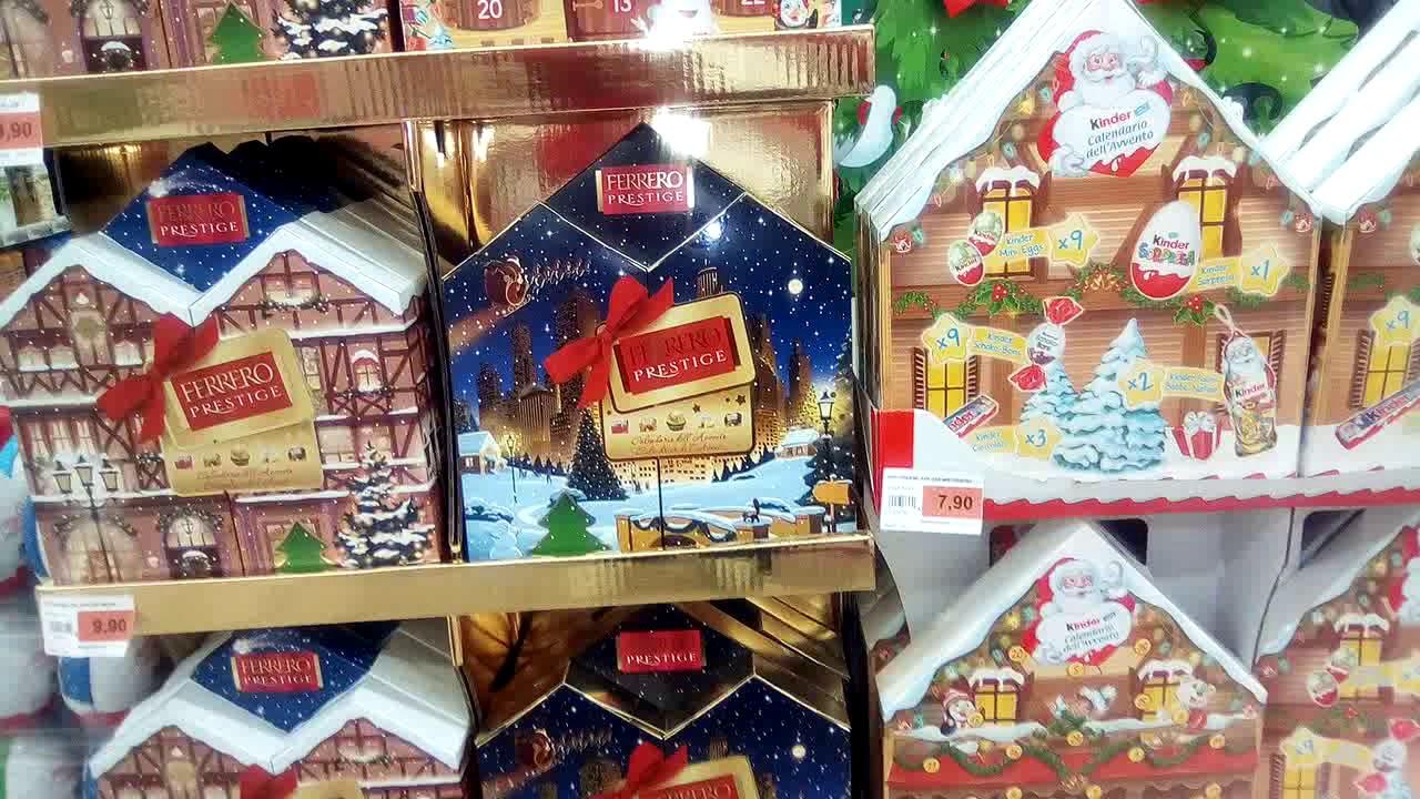 Calendario Avvento Ferrero.Fantastici Calendari Dell Avvento Kinder Ferrero