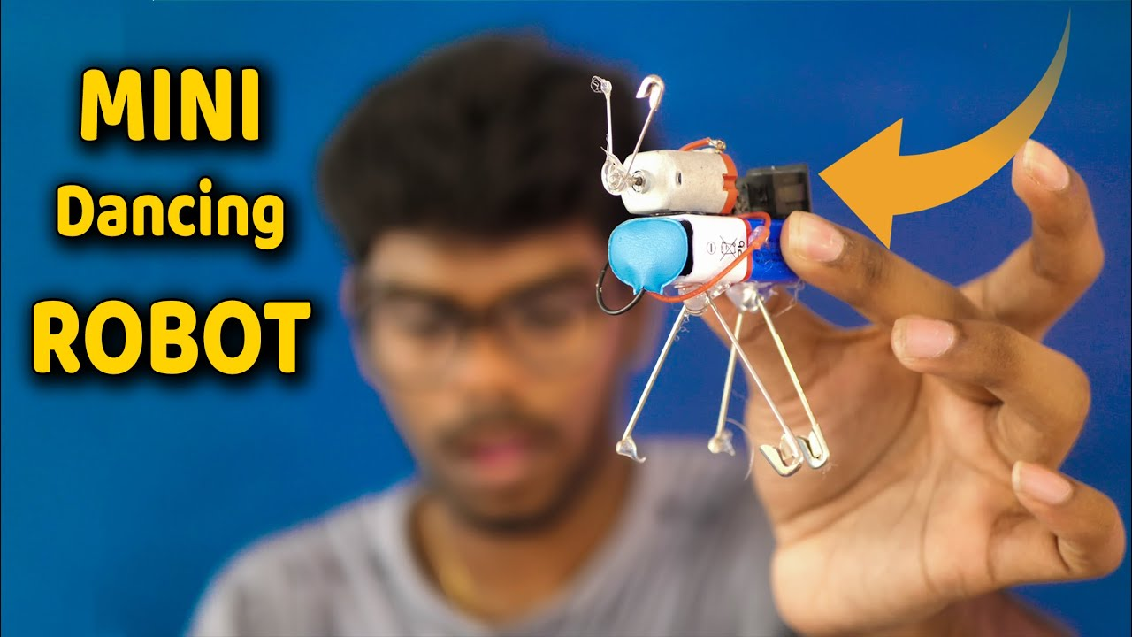How To Make Mini Robot in Tamil - Mini Dancing Robot in Tamil